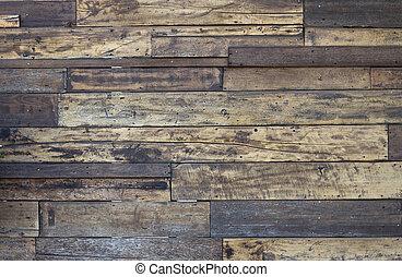 vecchio, tessuto legno