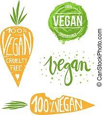 vegan, set