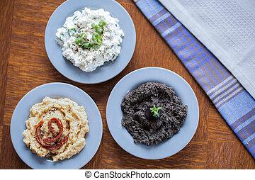 vegetariano, panino, saporito, espansioni