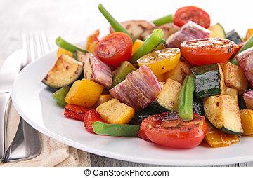 vegetariano, pasto