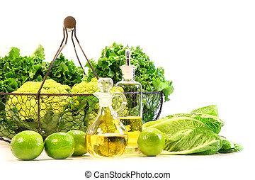 veggies, fresco, giardino, calci