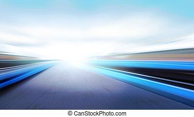 velocità, strada
