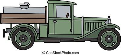 vendemmia, camion serbatoio