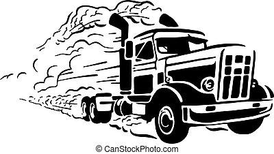 vendemmia, camion