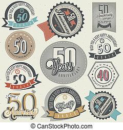 vendemmia, collezione, anniversario, 50