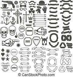 vendemmia, elementi, logotipo