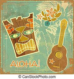vendemmia, hawaiano, scheda