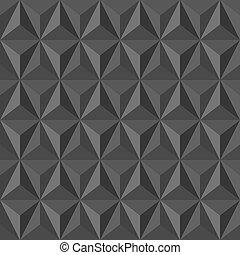 vendemmia, insolito, pattern., astratto, geometrico