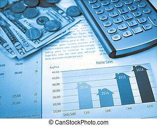 vendite casa, grafico