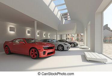 venditore di automobili