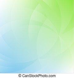 verde blu, fondo, natura
