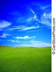 verde, golf