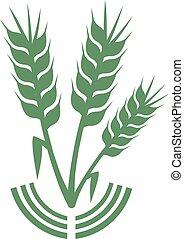 verde, simbolo, agricoltura