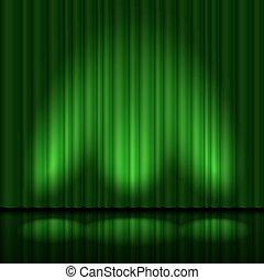 verde, tendaggio