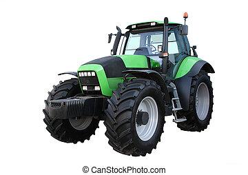 verde, trattore