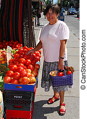 verdura, acquisto