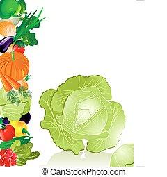 verdura, cavolo