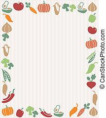 verdura, cornice