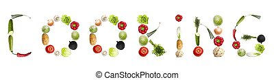 verdura, cottura, parola, fatto