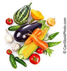 verdura fresca, congedi verdi