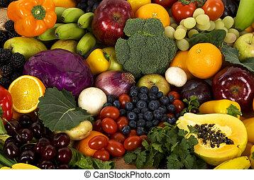 verdura, frutte