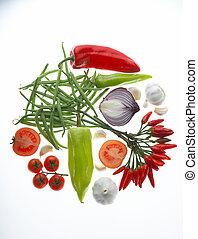 verdura, gemuesekreis, cerchio, -