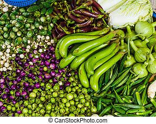 verdura, mercato cibo