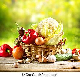 verdura, organico