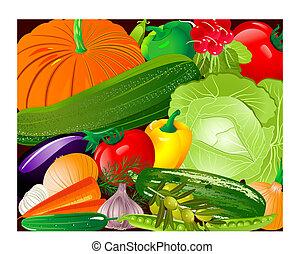 verdura, pano