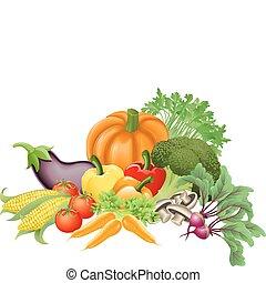 verdura, saporito, illustrazione