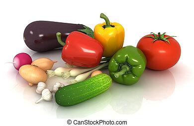 verdure fresche, congedi verdi