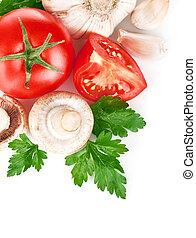 verdure fresche, foglia, verde