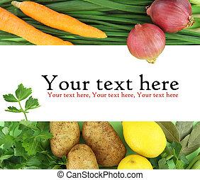 verdure fresche, fondo
