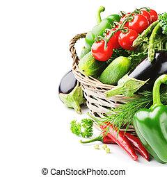 verdure fresche, organico