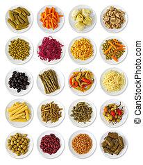 verdure marinate, collezione