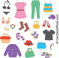 vestiti donne, accessori