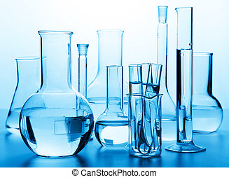 vetreria, laboratorio, chimico