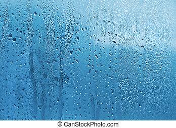 vetro acqua, gocce