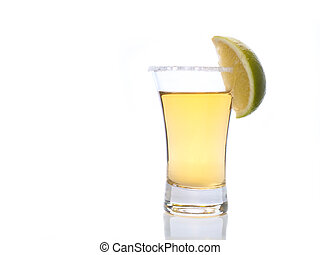 vetro, colpo tequila