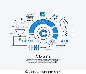 vettore, analisi, illustrazione