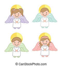 vettore, angelo