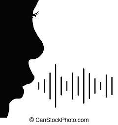vettore, bambino, nero, colorare, illustrazione, voce