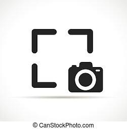 vettore, cattura, disegno, simbolo, icona