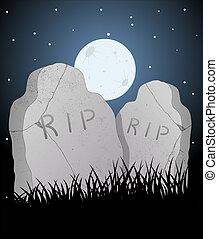 vettore, cimitero