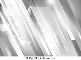 vettore, disegno, tono, fondo, argento, astratto, moderno