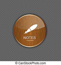 vettore, domanda, icone, note, illustrazione