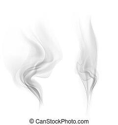 vettore, fumo