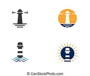 vettore, icona casa, illustrazione, luce