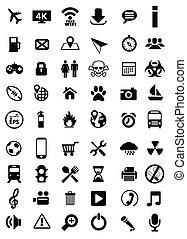vettore, icone