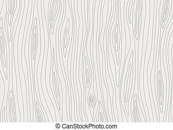 vettore, legno, luce, grigio, legno, fondo, texture.